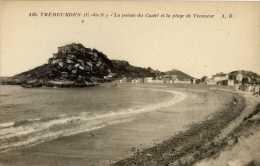 22-TREBEURDEN-La Pointe Du Castel Et La Plage De Tresmeur - Trébeurden