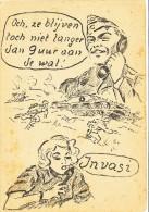 WW II, Satyre-serie, Vrieshol, 1945, Propaganda - Geschiedenis