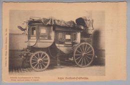 Motiv Postkutsche 1903-10-27 Foto Letzte Gotthard-Postkutsche Th.Zingg #1501 - Poste & Facteurs