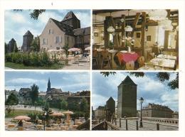 Cp, Commerce, La Bierstub De L´Ami Schutz - Strasbourg (67), Multi-Vues, Voyagée 1986 ? - Restaurants