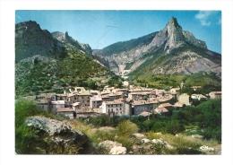 Cp, 05, Orpierre, Vue Générale Et Le Quiquillon, Voyagée 1983 - Autres Communes