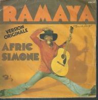 """45 Tours SP -  AFRIC SIMONE  - BARCLAY 620141 - """" RAMAYA """" + 1 ( Label Plastique ) - Vinyles"""