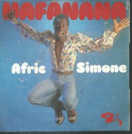 """45 Tours SP -  AFRIC SIMONE  - BARCLAY 620166 - """" HAFANANA """" + 1 - Vinyles"""