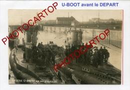 SOUS-MARINS Allemands-U-BOOT-Guerre14 -18-1WK-Carte Photo Allemande-Militaria-Armem Ent-Marine-Technique-Mate Lots- - Sottomarini
