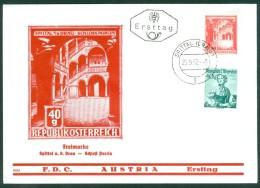 ÖSTERREICH - FDC Mi-Nr. 1112 Bauwerke Stempel SPITTAL (1) - FDC