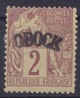 OBOCK     N°2*           TTB - Obock (1892-1899)