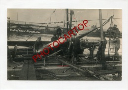 SOUS-MARINS Allemands-U-BOOT-Guerre14-18-1WK-Carte Photo Allemande-Militaria-Torpille-Torpedo-Marine-Technique-Matelots- - Sottomarini