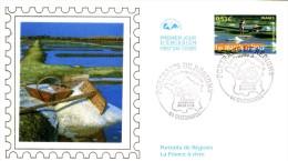 Enveloppe  1er  Jour   Les  Marais  Salants    GUERANDE    2006 - FDC