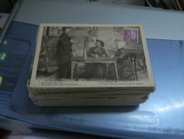 LOT DE 197 CARTES POSTALES ANCIENNES ET PETITES SEMI MODERNES PETITES CARTES  DE LA CORREZE (19) A 0.50 C D'EUROS PIECE - 100 - 499 Postcards