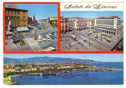 288/600 - LIVORNO , Saluti Da ....   . Viaggiata Nel 1969 - Livorno
