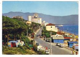 286/600 - FOLLONICA , Viale Italia   . Viaggiata Nel 1974 - Grosseto