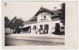 SERBIA - Lajkovac Near Lazarevac, Railway Station, Bahnhof, Old Postcard (Kingdom Of Yugoslavia) - Serbia