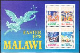 "MALAWI Block 51(293-6) ""Ostern"" MNH / ** / Postfrisch - Malawi (1964-...)"