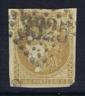 France Yv Nr 43A Obl. GC 1925 Laissac - 1870 Uitgave Van Bordeaux