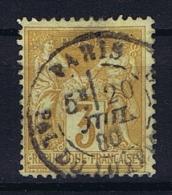 France: Yvert Nr 86 ,  Obl. - 1876-1898 Sage (Type II)