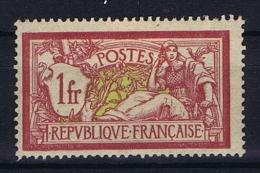 France: Yvert Nr 121 ,  MH/*