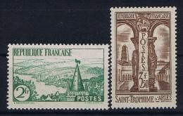 France: Yvert Nr 301 - 302 , 1935, MH/*