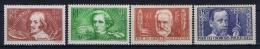 France: Yvert  Nr 330 - 333 , 1936, MH/*