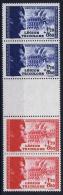 France: Yvert  Nr 565-566 Strip , 1942, MNH/**