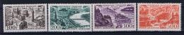 France: Yvert  Nr  Aérienne 24 - 27 , MH/* 1949