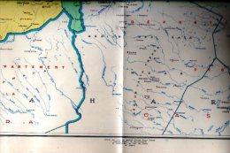 Algérie- Carte Coloniale Française-1958 ( Carte Dressée Sur Ordre Général Raoul Salan) - Cartes Géographiques