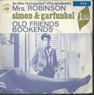 """45 Tours SP -   SIMON & GARFUNKEL  - CBS 3443  """" Mrs. ROBINSON """" + 1 ( Du Film """" LE LAUREAT """" ) - Vinyles"""