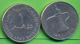 UAE 1 Dirham 1998 - 1419  (Used - XF) - Emirats Arabes Unis