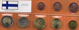 EURO Finnland 2012 Prägeanstalt In Helsinki Stg 22€ Im Stempelglanz Der Staatlichen Münze New Set Coins Of Soumi Finland - Finnland