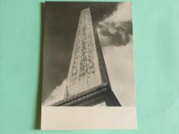 """ALBERT MONIER - PARIS , """" L'Obélisque"""". - Photographs"""
