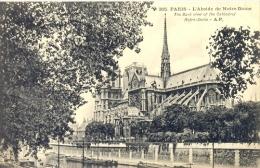 CPA PARIS - L´ABSIDE DE NOTRE DAME - Notre Dame De Paris