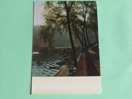 """ALBERT MONIER - PARIS , """" La Seine Au Quai D'ANJOU """". - Photographs"""