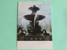 """ALBERT MONIER - PARIS , """" Fontaine, Place De La Concorde """". - Photographs"""