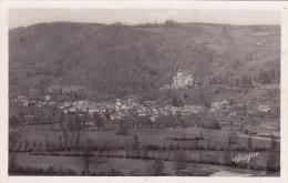 Polminhac  Vue Générale, Au Fond Château De Pesteils - Other Municipalities