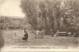 44  LE  POULIGUEN   2      HOSTELLERIE DE LA RETRAITE  FLEURIE   RESTAURANT  CHAMPETRE - Le Pouliguen