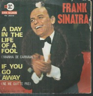 """45 Tours SP -   FRANK SINATRA  - REPRISE 20214  """" A DAY IN THE LIFE OF A FOOL """" + 1 - Vinyles"""