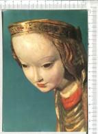 MADONE De KRUZLOWA - Détail -  XVè S. -     Bois   -   Ecole Polonaise    -  Musée National  - Cracovie - Vergine Maria E Madonne