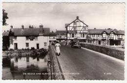 Postcard - The Bridge And Albany Hotel, Fording Bridge      (13256) - England