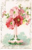 Verzierte Vase Mit Blumen, 1902 Wyhlin Baden Nach Freiburg  ( 201 - Unclassified