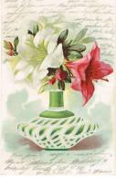 Verzierte Vase Mit Blumen, 1902 Lörrach Nach Freiburg  ( 208 - Unclassified