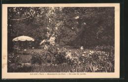 CPA Le Luc, Hostellerie Du Parc, Un Coin Du Jardin - Le Luc