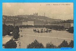 LYON (Rhône) PANORAMA DE LA PLACE BELLECOURT. - Lyon 1