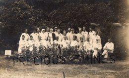 MUTILES ET GUEULES CASSEES CARTE PHOTO MILITAIRE GUERRE 14 18  LE 15 AOUT 1917 - Guerre 1914-18