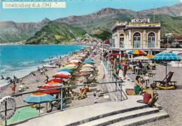 Cartolina BORDIGHERA (Riviera Dei Fiori / Provincia Di Imperia) - La Spiaggia - Other Cities