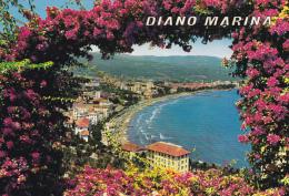 Cartolina DIANO MARINA (Riviera Dei Fiori / Provincia Di Imperia) - Panorama E Golfo - Italia