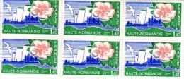 1978-  Régions: Haute Normandie - Planche De 6  Timbres N° 1992 - Neufs