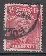 Rhodesia   Scott No. 120   Used   Year  1913 - Groot-Brittannië (oude Kolonies En Protectoraten)