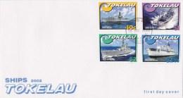 Tokelau 2002 Ships FDC - Tokelau