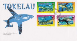 Tokelau 2002 Pelagic Thresher Shark FDC - Tokelau