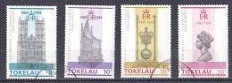 Tokelau 1978 Coronation Anniversary Set Of 4 Used - Tokelau