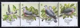 1991  Strip Of 5 Bird Stamps Sc 150a  MNH - Madeira